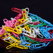 Stock Photo: Paper clips