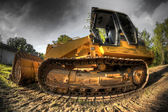 Bulldozer — Stockfoto