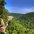 Stock Photo: Hawksbill Crag Hiker