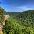 Hawksbill Crag Hiker - Stock Photo