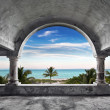Stock Photo: Ocean Front Mansion