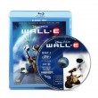 Wall-E Blue-ray movie disk — Stock Photo