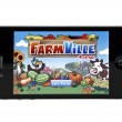 FarmVille on iphone — Stock Photo