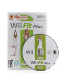 Wii fit videospiel — Stockfoto