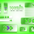 Stock Vector: Web design elements