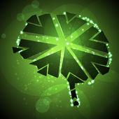 Brain crushing — Stock Vector