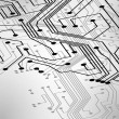 Circuit board vector background — Image vectorielle
