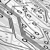 Platine vektor hintergrund — Stockvektor