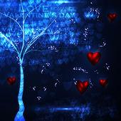 Valentine's day illustration — Stock Vector