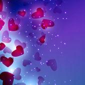 Valentines Hearts — Stok Vektör