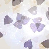 情人节的心 — 图库矢量图片
