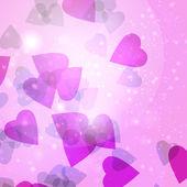 Valentines hearts — Stock vektor