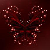 光沢のある蝶 — ストックベクタ