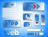 Web-design-elemente — Stockvektor