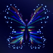 Royalty-Free Stock Vector Image: Shiny Butterfly