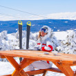 Stock Photo: Apres ski in Sarikamis