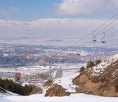 View on Erzurum. Turkey — Stock Photo