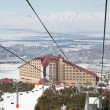 Turkish ski resort. Palandoken. Erzurum — Stock Photo