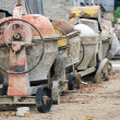 Used portable concrete mixer — Stock Photo #8815595