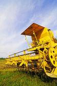 Paddy harvest machine — Stock Photo