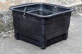 Utilisé le réservoir d'eau de poly — Photo