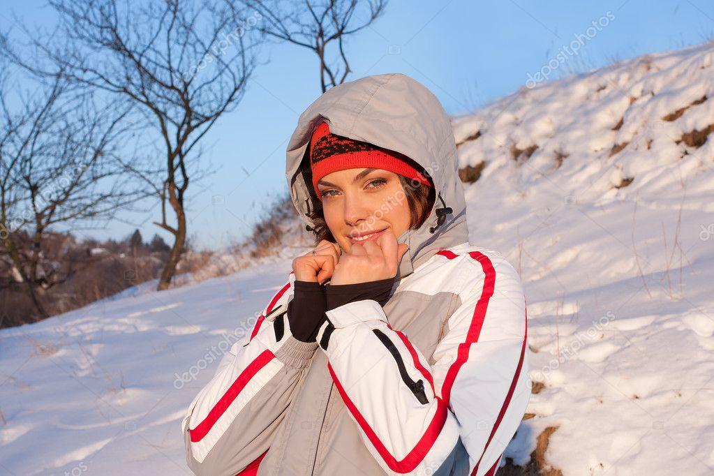 Горнолыжный костюм девушки фото