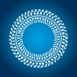 Royalty-Free Stock Vector Image: Special blue background with tire design