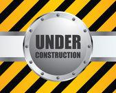 Special under construction background — Stock Vector