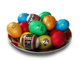 Painted eastereEggs — Stock Photo