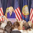 Calista Gingrich introduces Newt. — Stock Photo