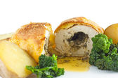 Garlic Chicken Kiev — Stock Photo