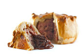 Traditional Hand Raised Pork Pie — Stock Photo