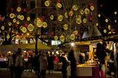 Budapest Christmas market — Stock Photo