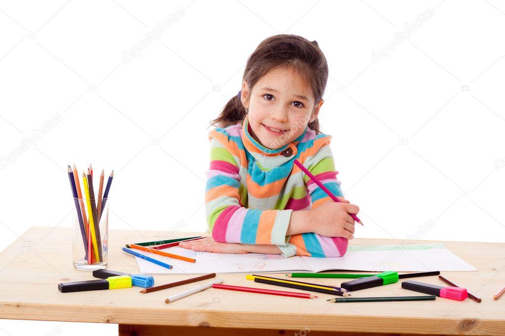 рисуем цветными карандашами скачать: