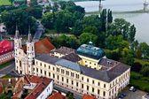 Iglesia y castillo de esztergom — Foto de Stock