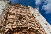 Kostel san pablo nízký úhel — Stock fotografie