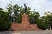Lajos kossuth památník — Stock fotografie