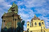 Maria Theresa Statue Low Angle — Stock Photo