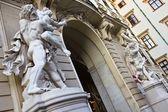 Hercules Stone Statues — Stock Photo