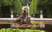 水中仙女喷泉 — 图库照片
