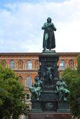 Schiller Statue — Stock Photo