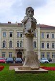 Kuno Klebelsberg Statue — Stock Photo
