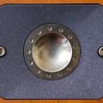 Wooden high-tones speaker — Stock Photo #9931695