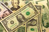 Banconote da un dollaro — Foto Stock