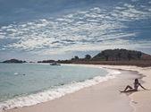 Beach landscape in Thailand — Stock Photo