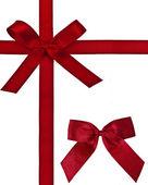 Christmas bows — Stock Photo
