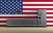 American Kitchen — Stock Photo