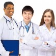 Royalty-Free Stock Photo: The doctor and interns