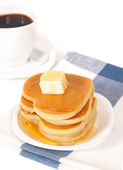 A stack of pancakes. — Stock Photo