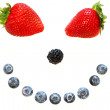 Berry smile — Stock Photo